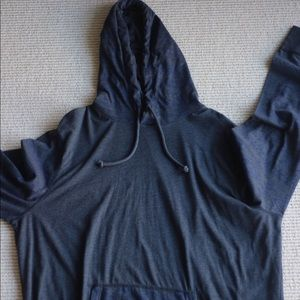 AMERICAN EAGLE THIN PULLOVER HOODIE WITH PRINT